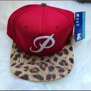 Zumiez Accessories - NWT Primitive Classic P SnapBack Hat Leopard Red 33fd6867dcaa